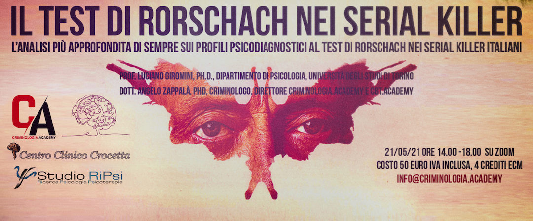 Il Test di Rorschach nei serial killer.